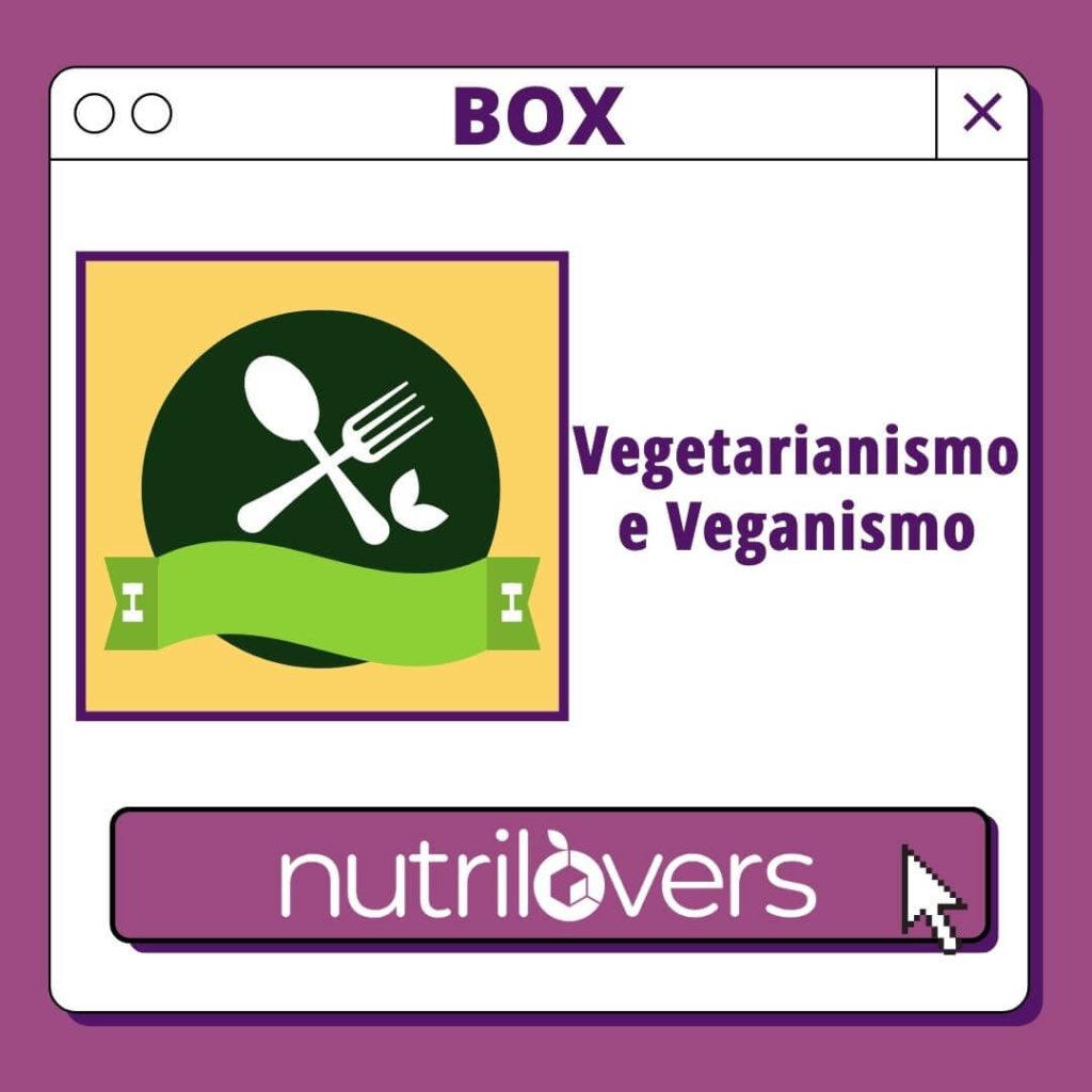 BOX 01 – Nutrição Vegana e Vegetariana